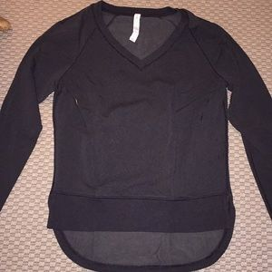 Lululemon v-neck sweatshirt.